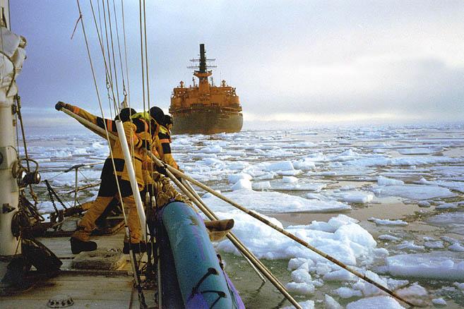 Карское море. 20 миль за ледоколом – самые острые мили Севморпути