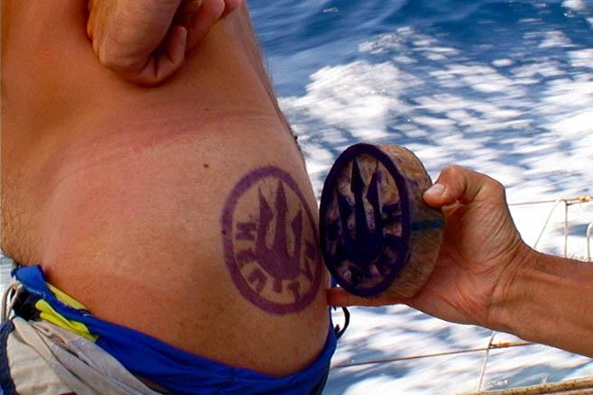 Экватор. Нептунова печать