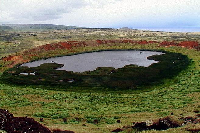 Остров Пасхи имеет вулканическое происхождение