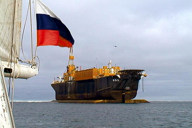 ...оказавшемуся плавучей нефтяной платформой