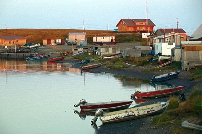 Тактояктук – город рыбаков и охотников