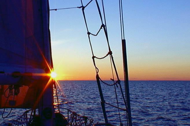Восход над бухтой Франклин