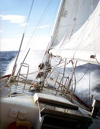 Море Баффина: ветер, как обычно, «в морду»