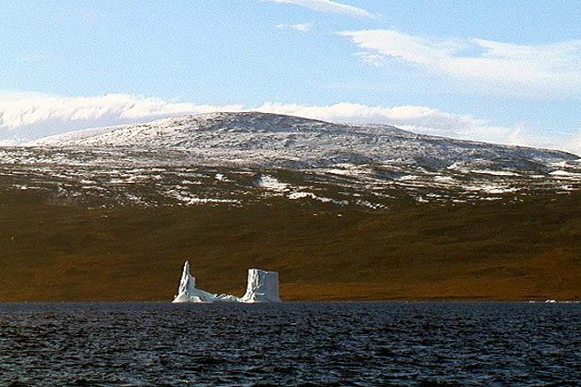 Залив Клайд. Айсберг необычной формы