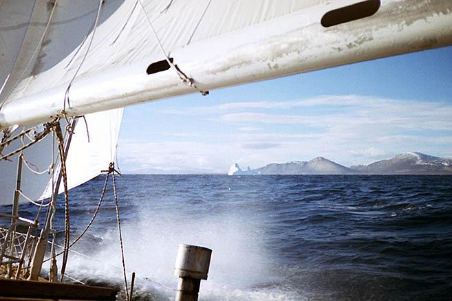 Дэвисов пролив – курс к южной оконечности Гренландии