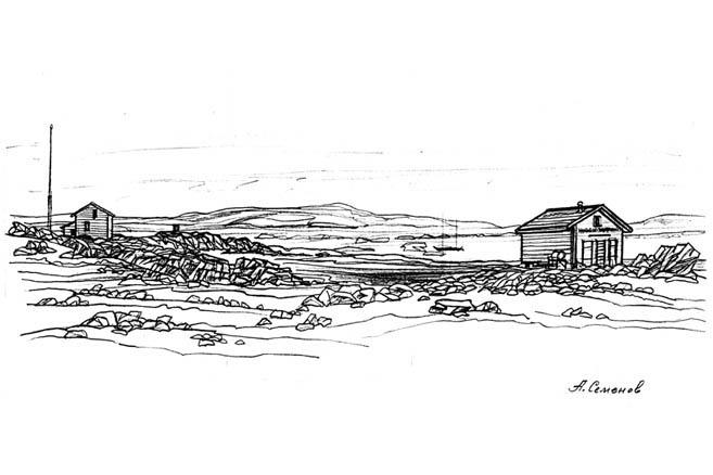 Брошенный поселок Форт-Росс, Канада. 09.09.2002