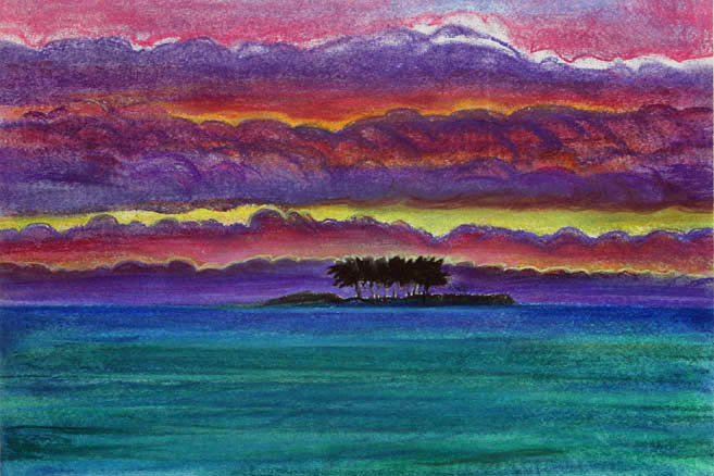 Океания, закат. 2006 год