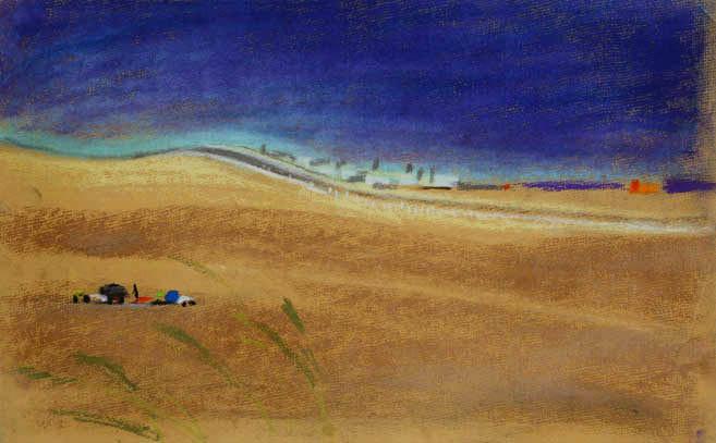 Пустыня Намиб. 2006 год