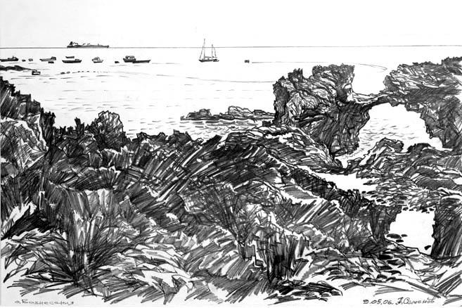 Остров Вознесения. 09.05.2006