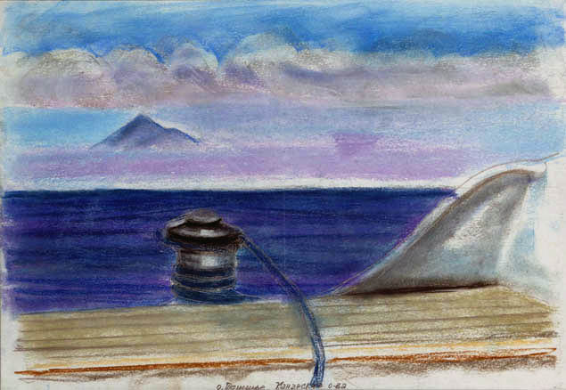 На горизонте – Канарские острова. 2006 год