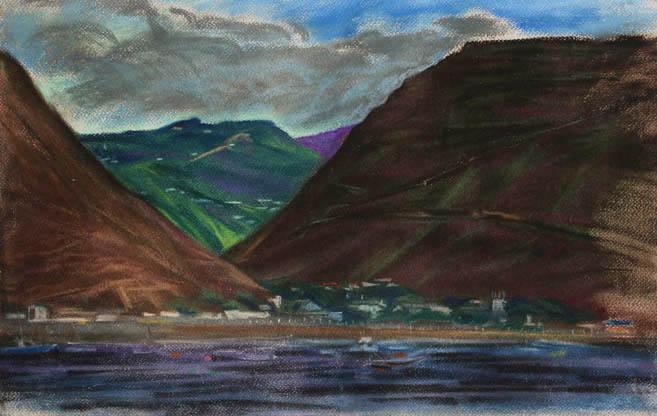 Остров Вознесения. 2006 год