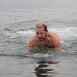Скупнулись... в Баренцевом море