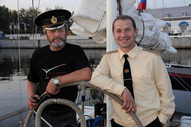 Капитан Литау и капитан 3-го ранга Бармин