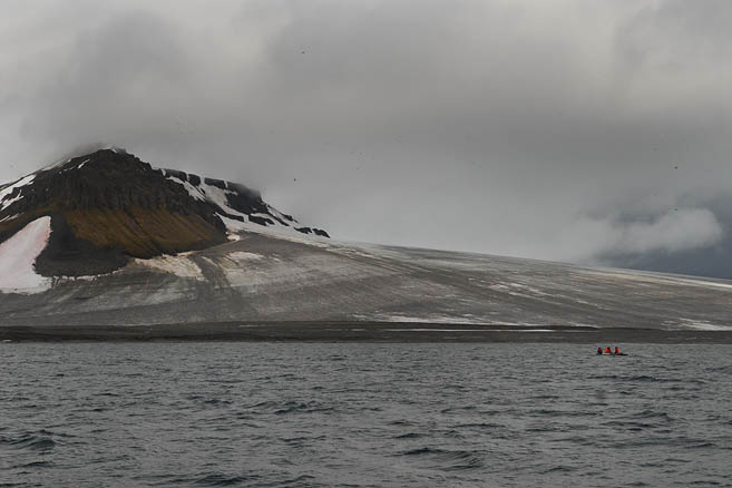 Земля, на которой разыгралось немало арктических трагедий