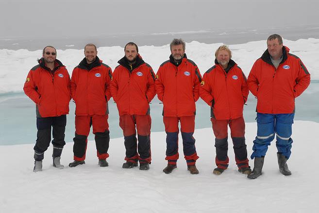 Слева направо: А.Шмигельский, С.Бармин, Д.Давыдов, Н.Литау, А.Семенов, С.Дубровин