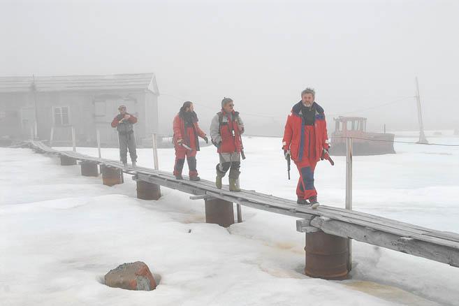 Полярная станция им. Кренкеля была брошена в середине 90-х