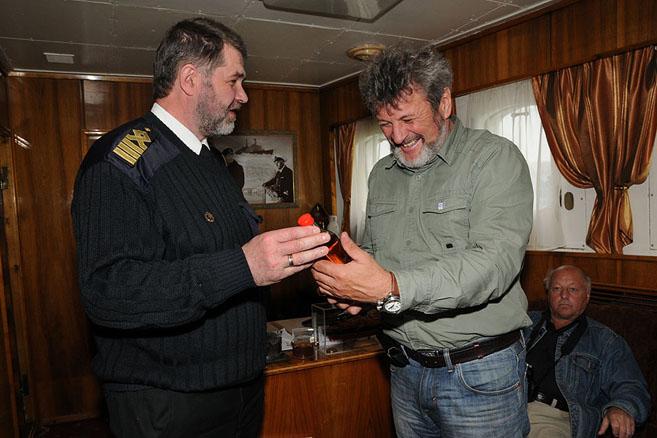 Капитан «Ленина» Александр Баринов