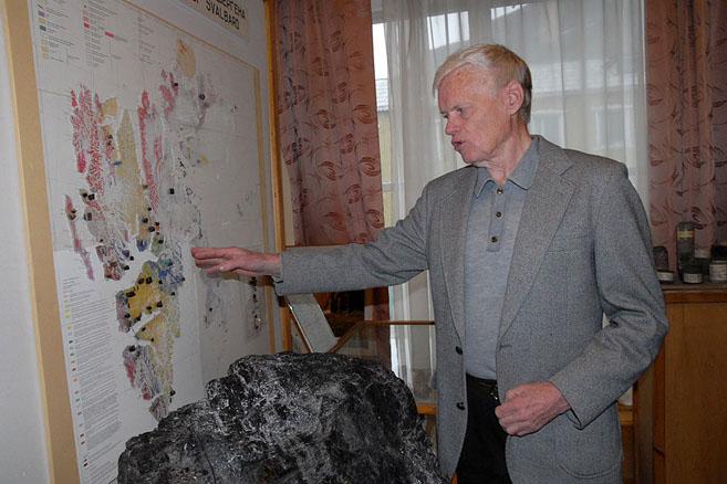 Экскурсию ведет полярный археолог Вадим Старков