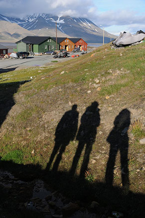 Лонгйир – столица архипелага