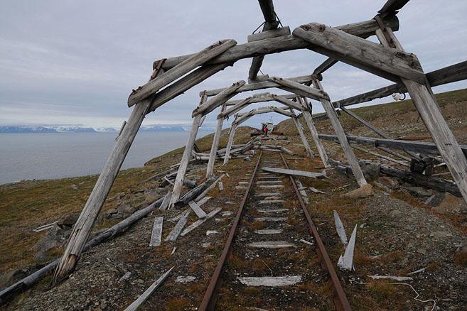Дорога в шахту