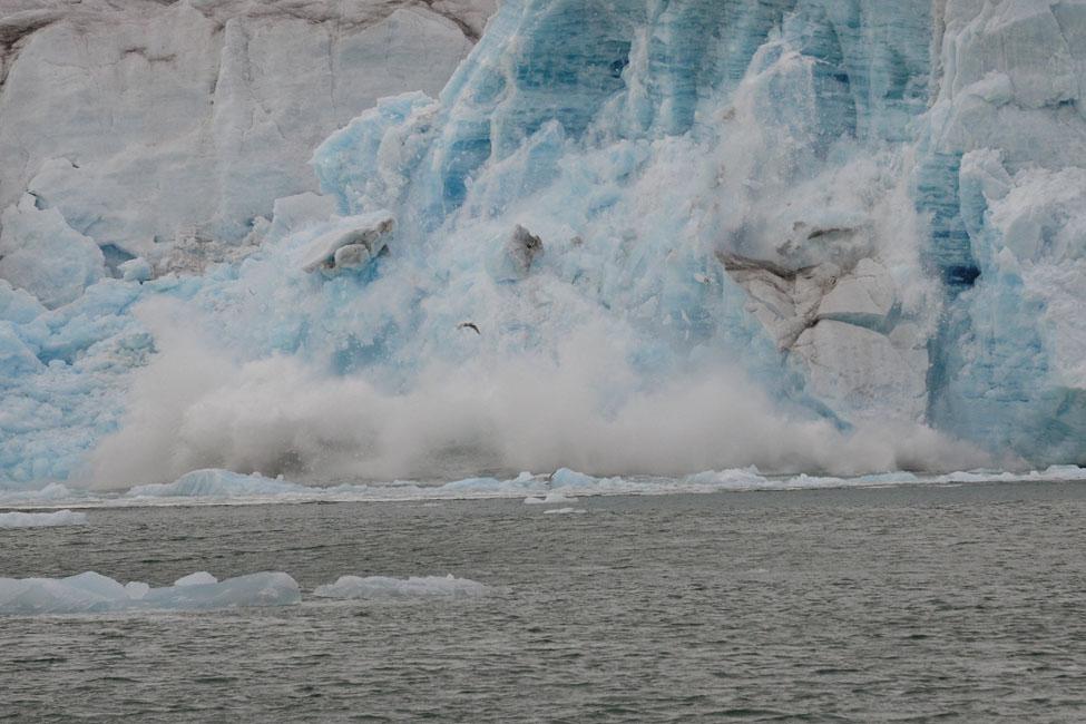 Рушащийся ледник