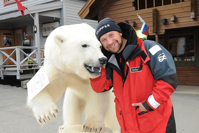 Медведь и пришелец
