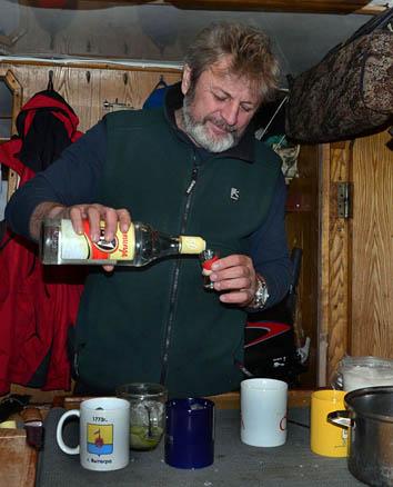 Капитан и его напитки...