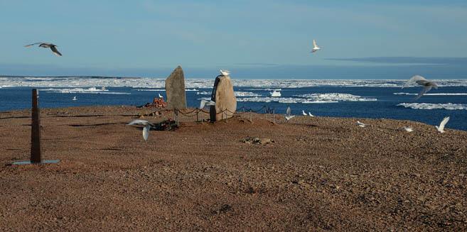 Памятники острова Домашний