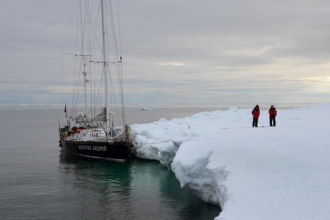 Самые северные яхтсмены