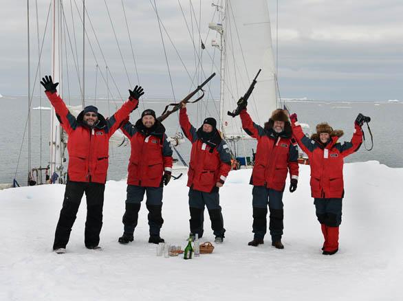 31 августа 2013 года. Мыс Арктический, северная оконечность архипелага Северная Земля