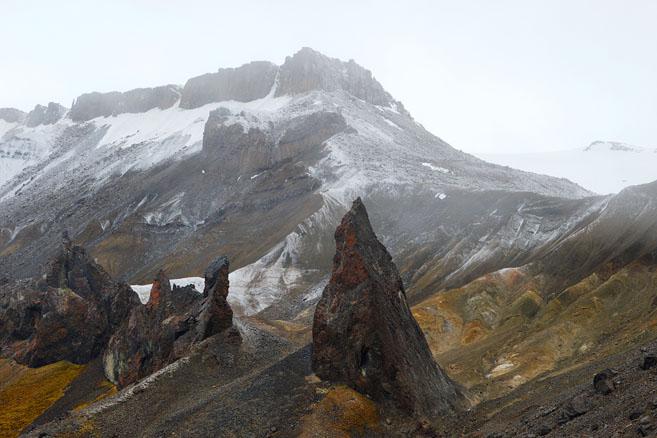 Высота гор на острове Галля достигает 500 метров