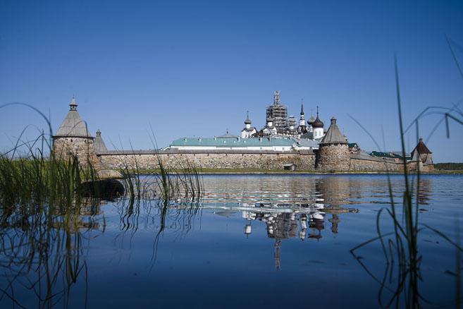 Соловецкий монастырь, август 2014  года