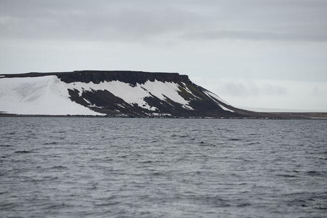 Остров Галля со строны