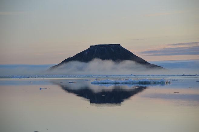 Остров Гукера. Арктическая пастель