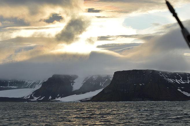 Закат над островом Нортбрук