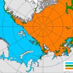 Ледовый карта ААНИИ, июль 2016 года. Некуда спешить...