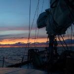 Закат на Онеген
