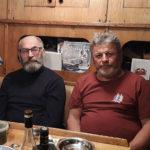 14 ноября 2018 года. Отцы-основатели: Аркадий Гершуни (в центре), Николай Литау и парусный мастер Владимир Боев (слева).