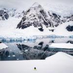 Яхта Mon Coeur у берегов Антарктиды, декабрь 2018 г. Фото - Viktor Posnov.